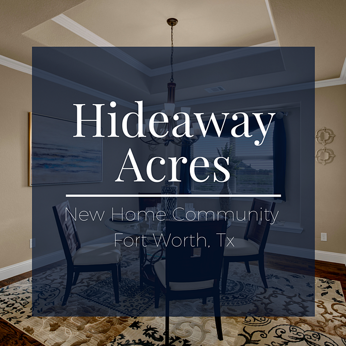 Hideaway Acres Blog