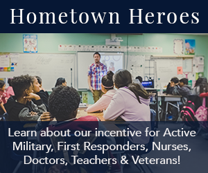 Lillian Custom Homes Hometown Heroes Incentive Program