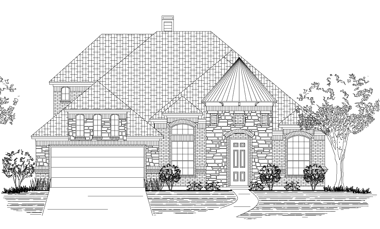 new homes for sale burleson seven oaks 1187 oak grove custom home