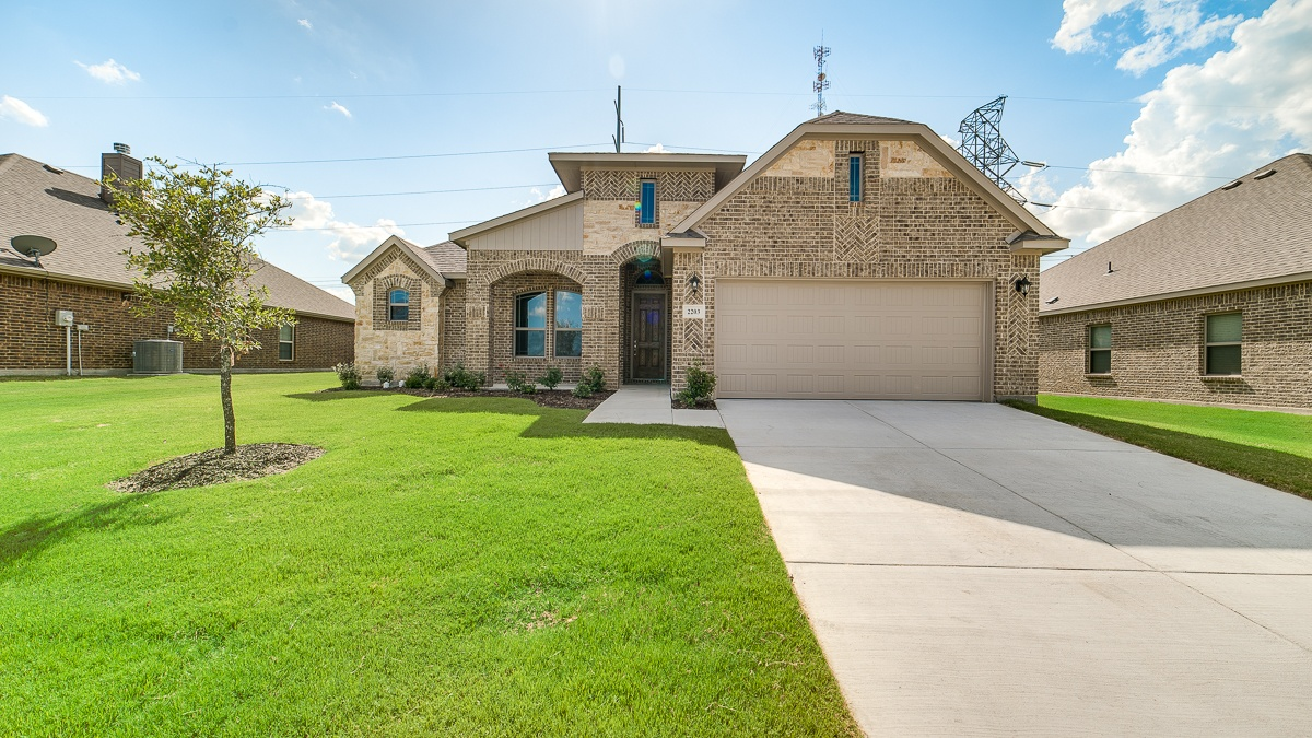 New Homes for sale Waxahachie, TX arbor at willow grove