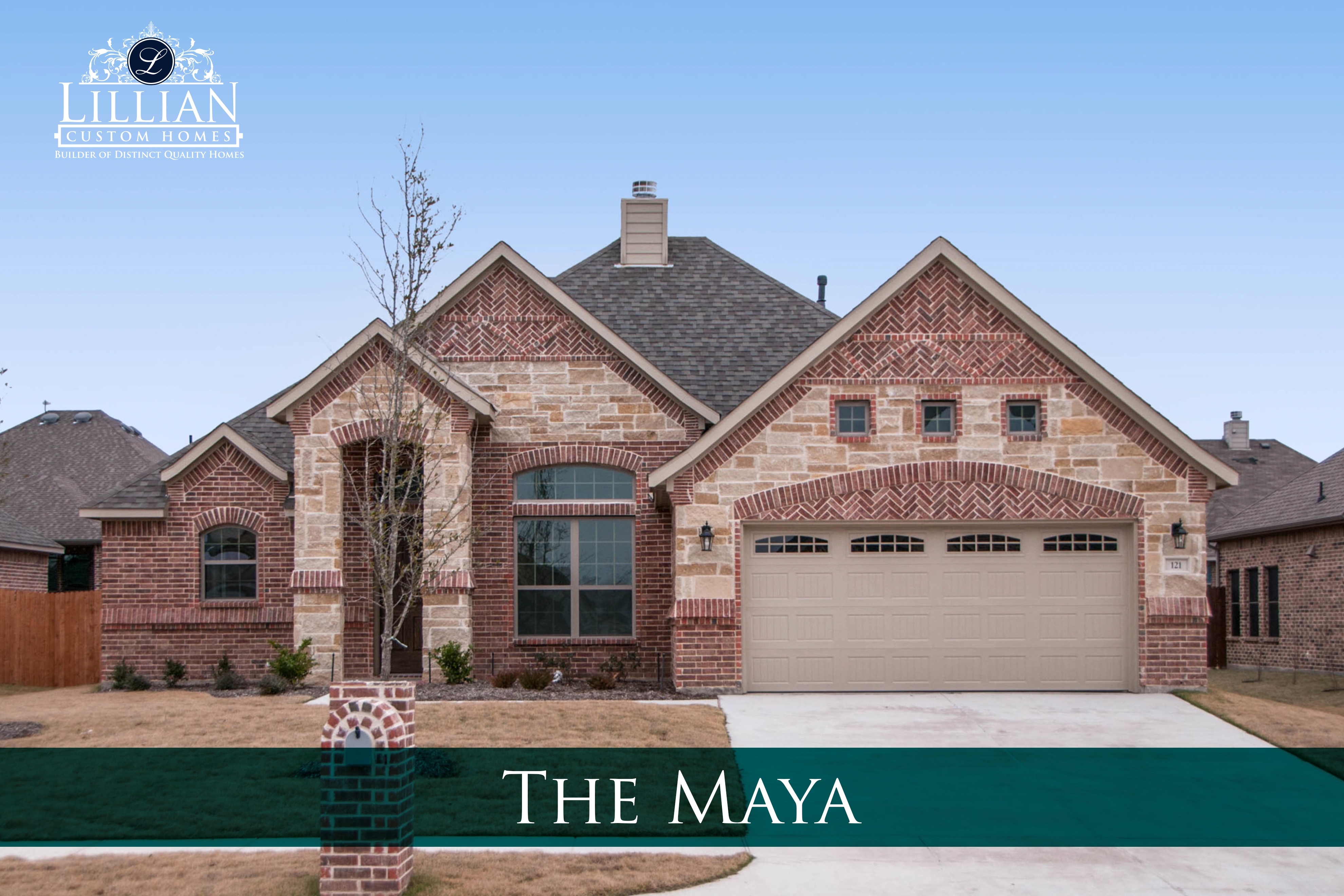 new homes for sale waxahachie park place community maya floor plan