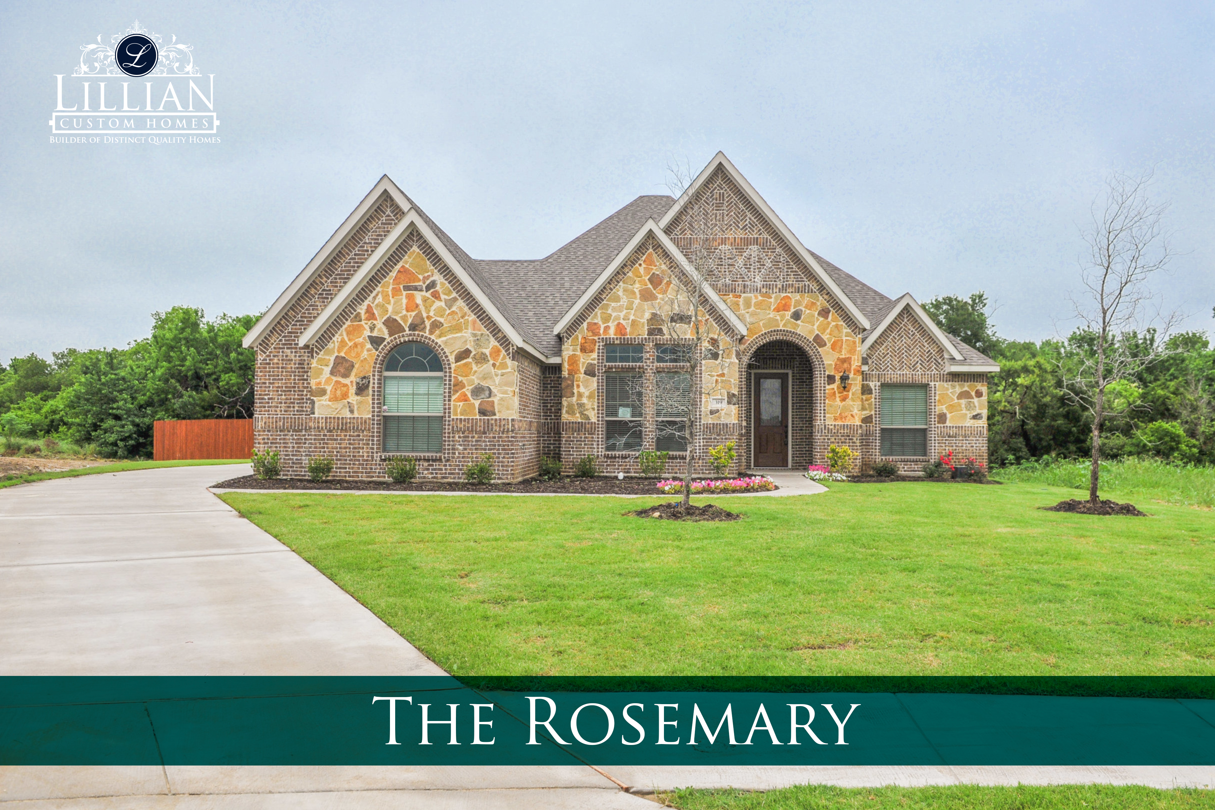 new homes for sale waxahachie park place community rosemary floor plan