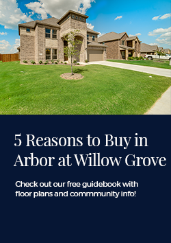 New Homes For Sale Waxahachie Tx The Arbor At Willow Grove